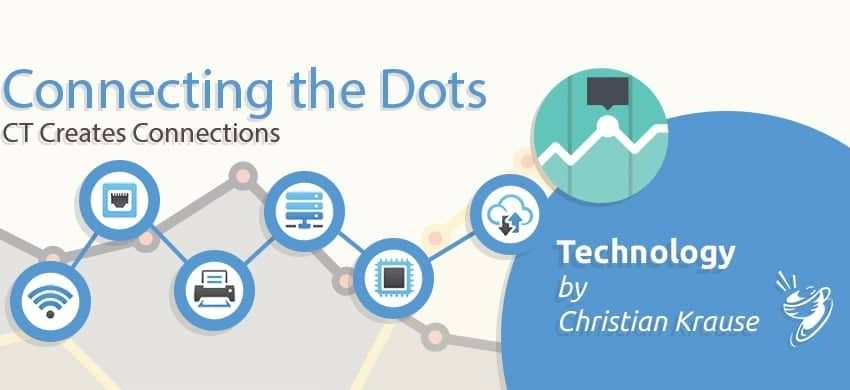 Connecting the Dots Header OCT15