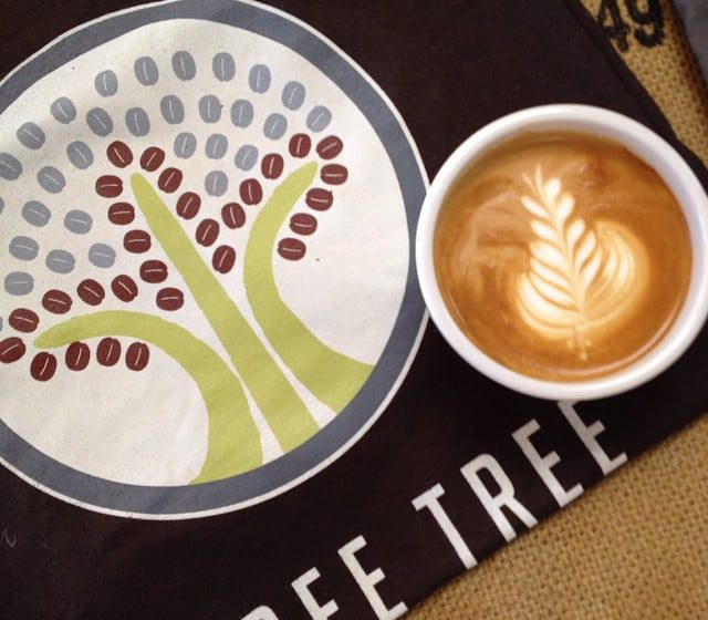Three Trees   tshirt   coffee