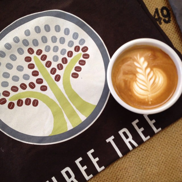 Three Trees   tshirt   coffee