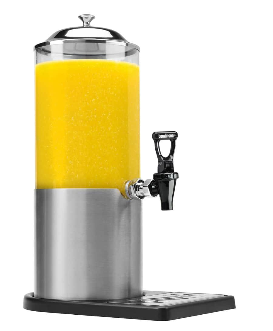 Juice faucet wishbone handle