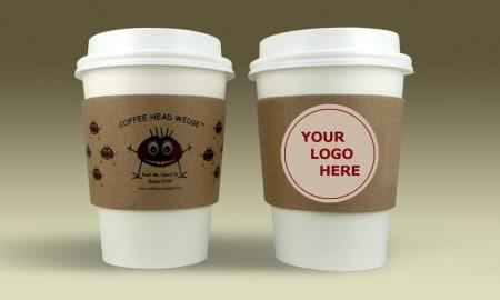 Coffee Head Wedge your Logo 2
