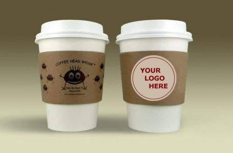 Coffee paper cup sleeve insulator NEW invention!
