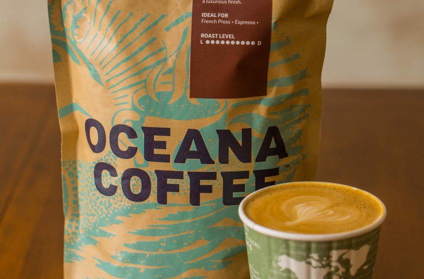 Oceana Coffee Bag   Latte by Libby Vision