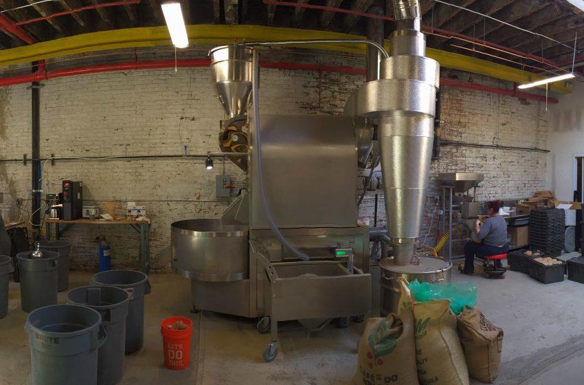Roasting Facility Panoramic