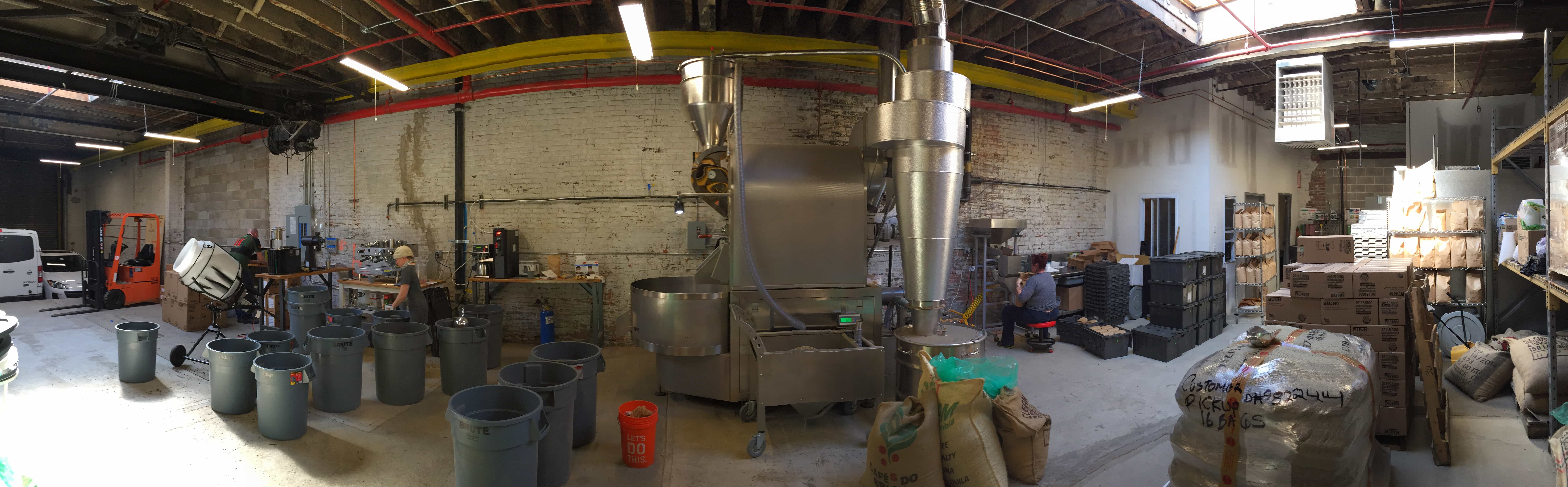 Roasting Facility Panoramic
