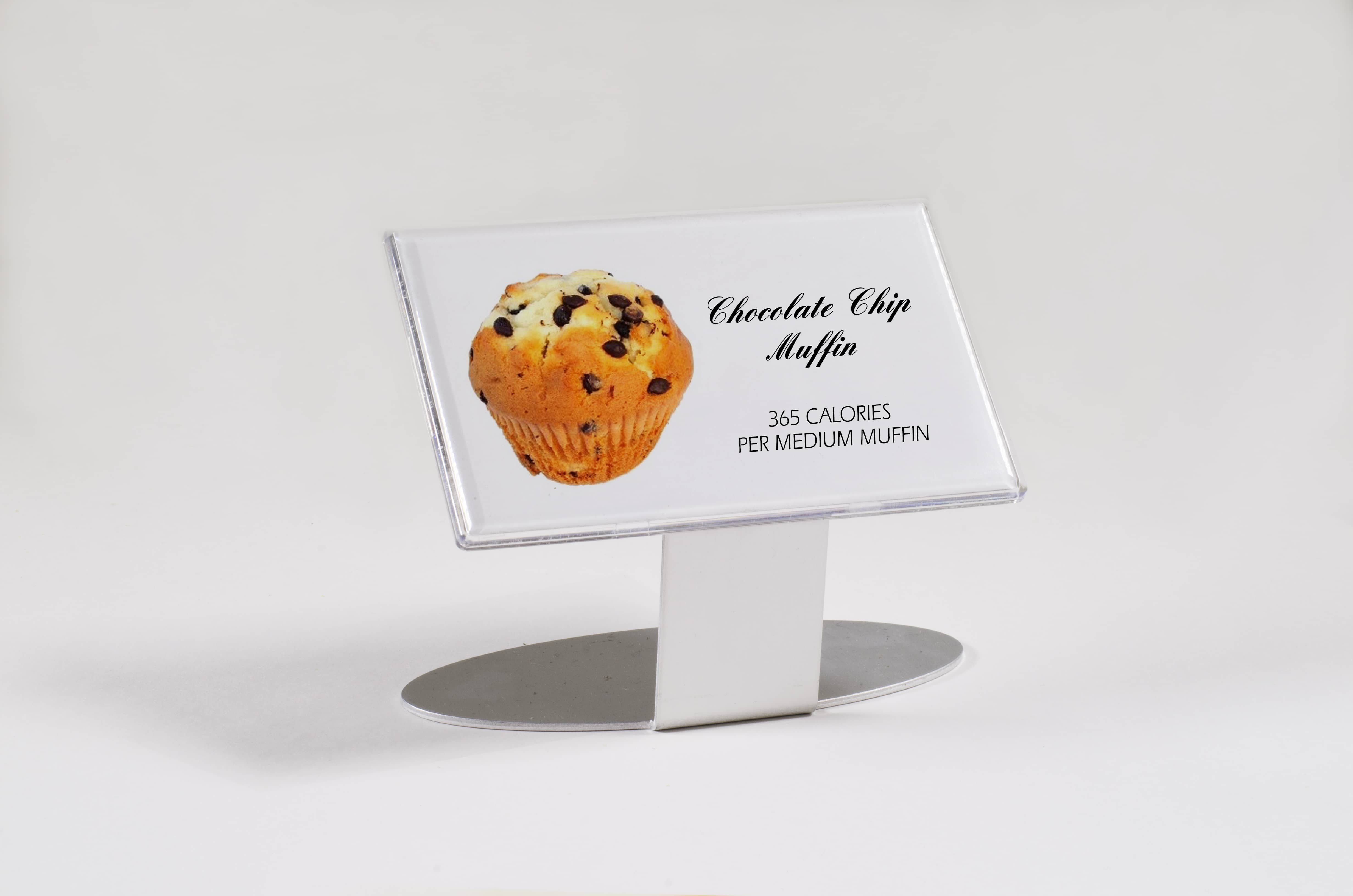 Imprint Plus food calorie muffin