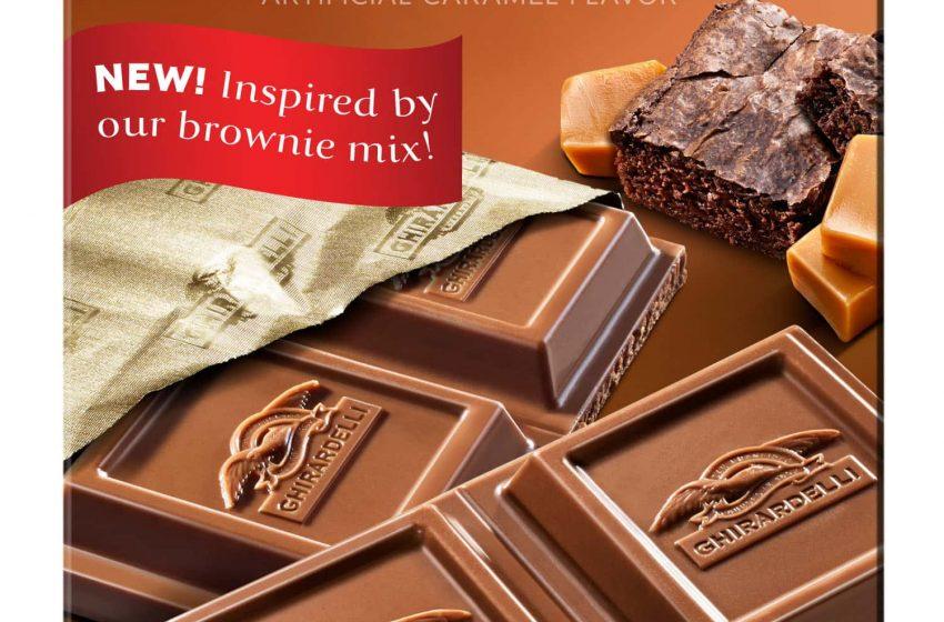 Milk Chocolate Caramel Brownie Bar