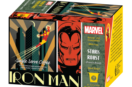 White Coffee Introduces Marvel Comics Coffees for Adult Fans and Avengers Hot Chocolate for Fans of All Ages