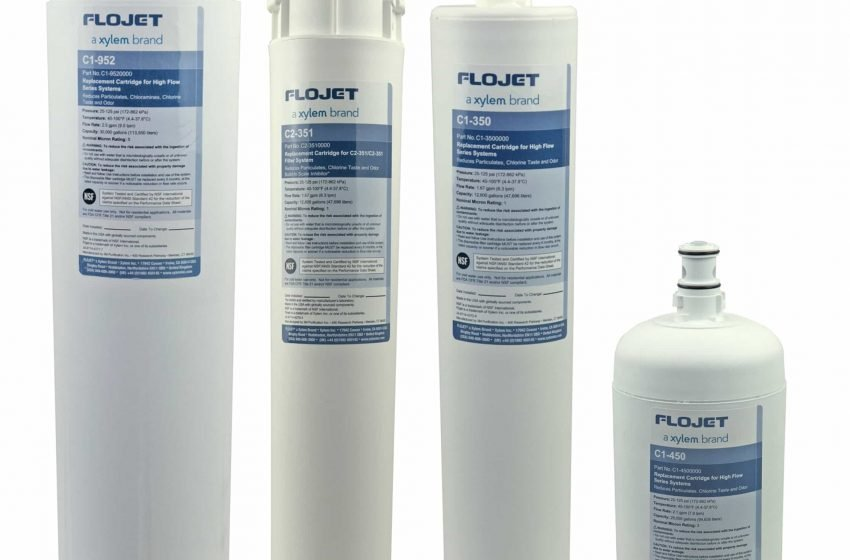 Flojet Water Filtration Cartridges group