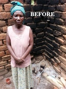 Maama Vanessa before 225x300 - Clean Cook Stoves in Uganda: Climate Change Mitigation with Health and Employment Benefits