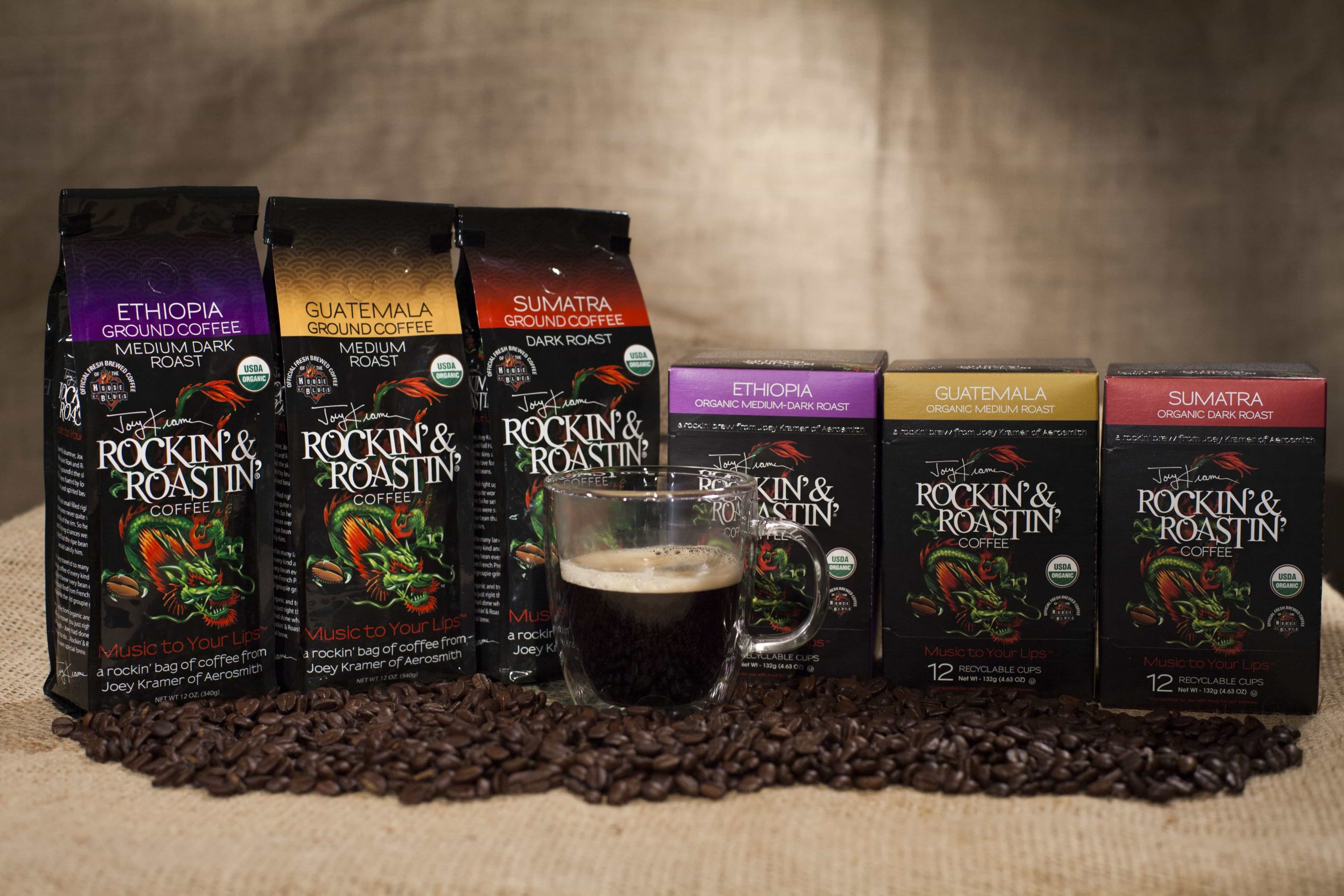 Joey Kramer Gets Rockin' & Roastin' with InFusion Sales
