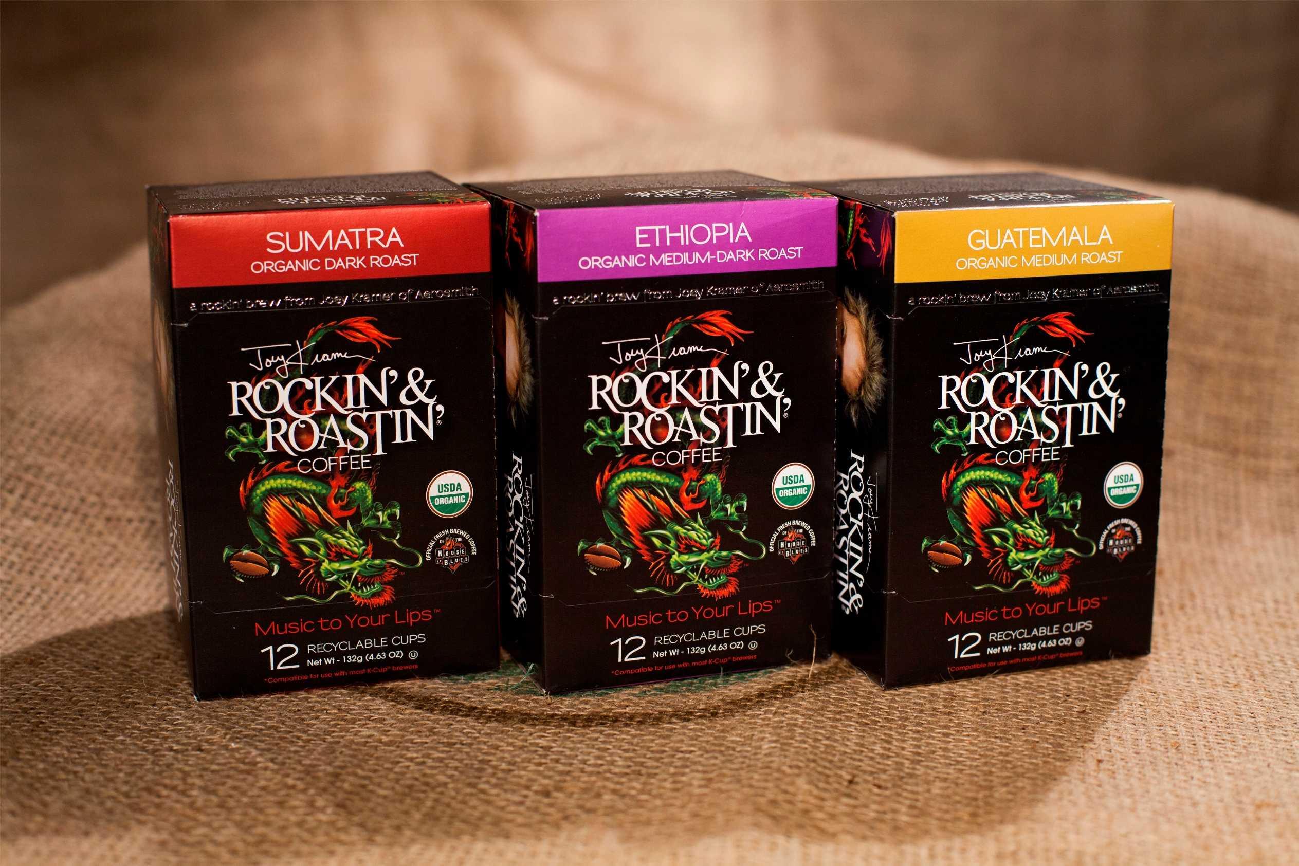 Lindsay Rotondi   Rockin'   Roastin'   Single Serve Cups
