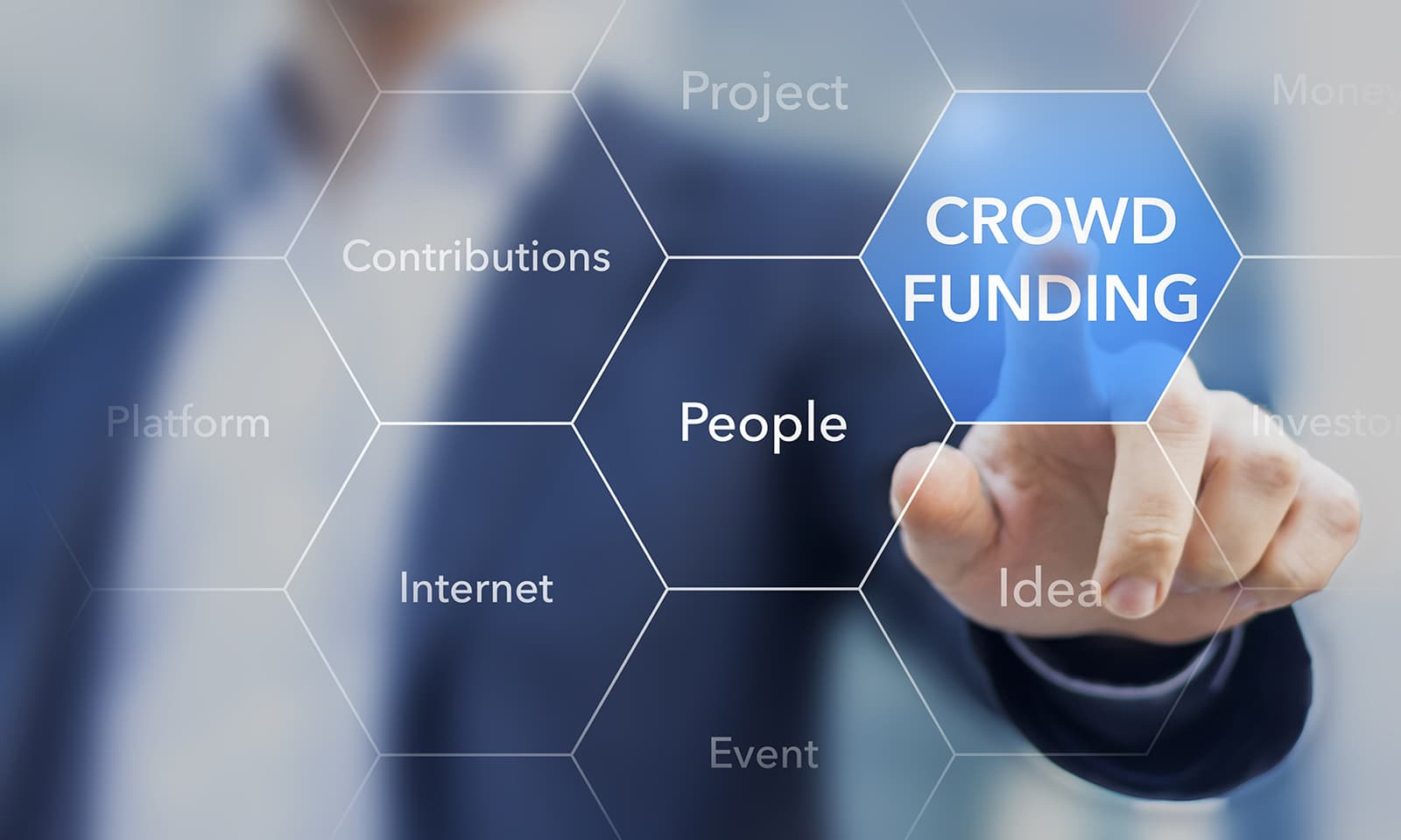 Crowd funding is a successful concept for starting projects star