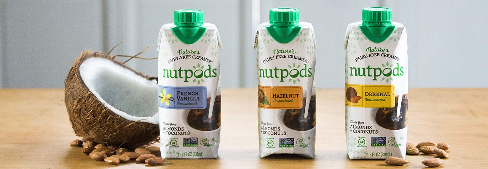 Dairy-free Creamer Brand Nutpods® Chosen for Holistic Cruise and Adds New Flavor
