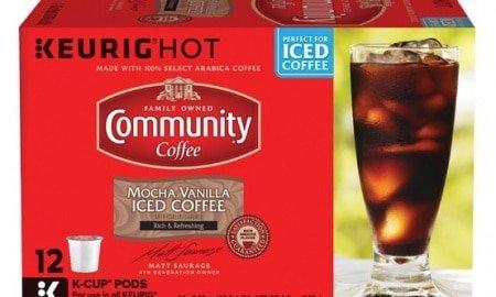 Devin Pence mocha vanilla 450x270 - Community Coffee Company Keeps Summer Cool with New Mocha Vanilla Iced Coffee
