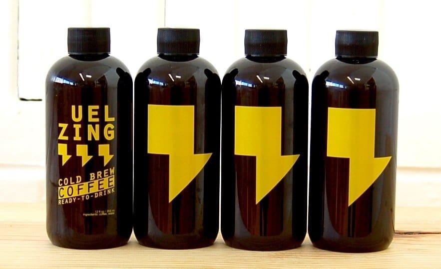 Jade Prieboy - UEL ZING coffee cold brew four pack loose crop
