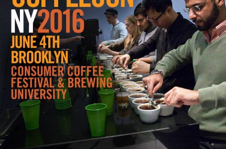 CoffeeCon NY 2016 – Consumer Coffee Festival and Brewing University