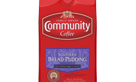 Devin Pence CC 12oz Red Bag Bread Pudding FV 450x270 - Community Coffee Company Gears Up for Fall with Festive Flavors
