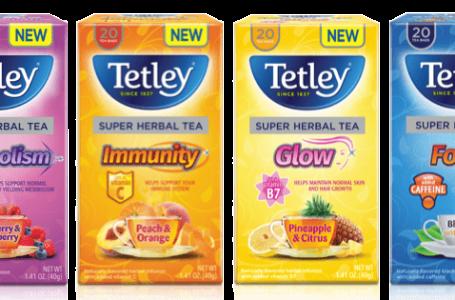 Tetley USA Launches New Line of Super Teas