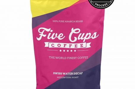 THE WORLD'S FINEST DECAF COFFEE OFFICIALLY LAUNCHED