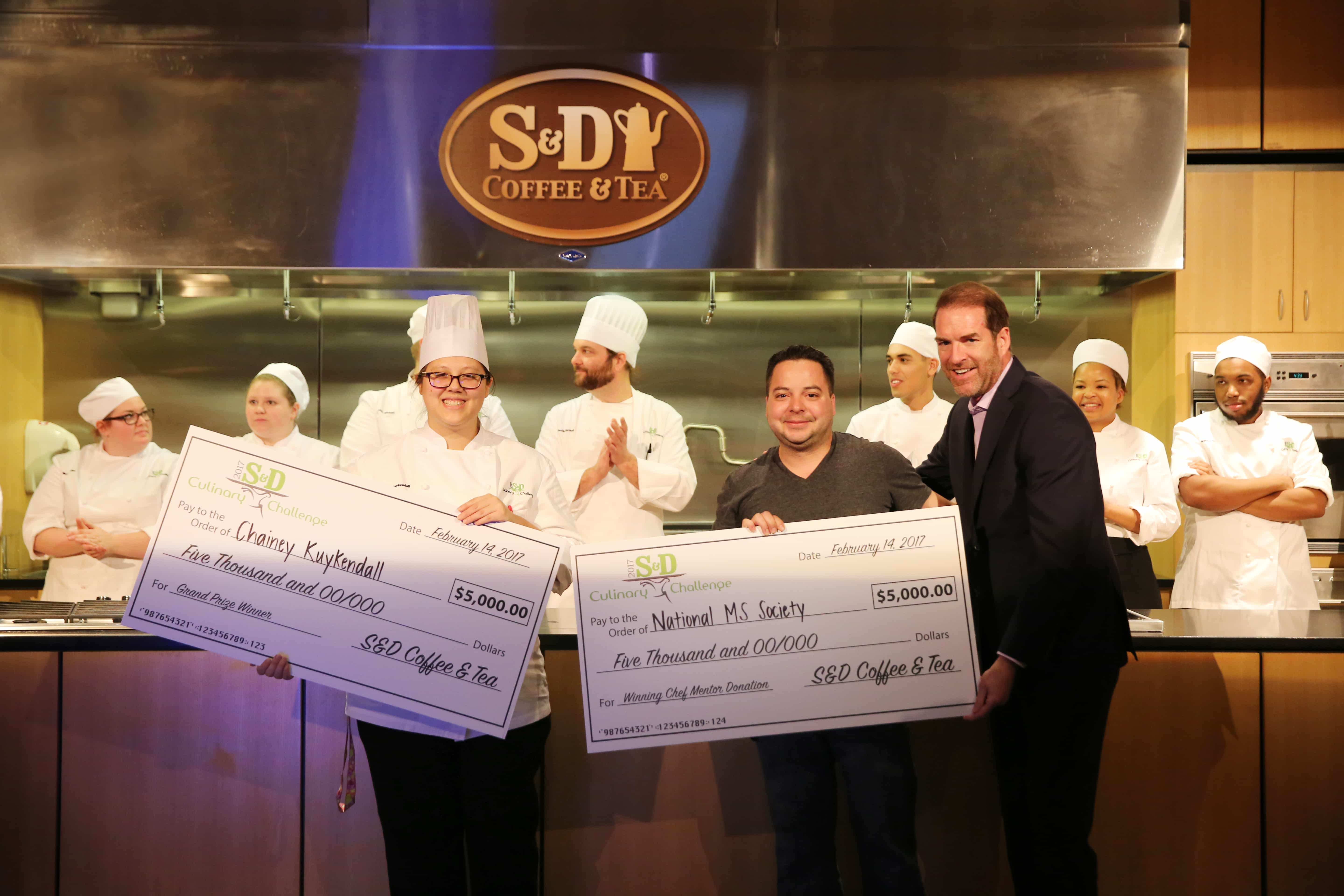 Andrea Simrell 2017 SD Culinary Challenge Winners - JWU Charlotte Student Chainey Kuykendall Wins Back-to-Back S&D Culinary Challenges