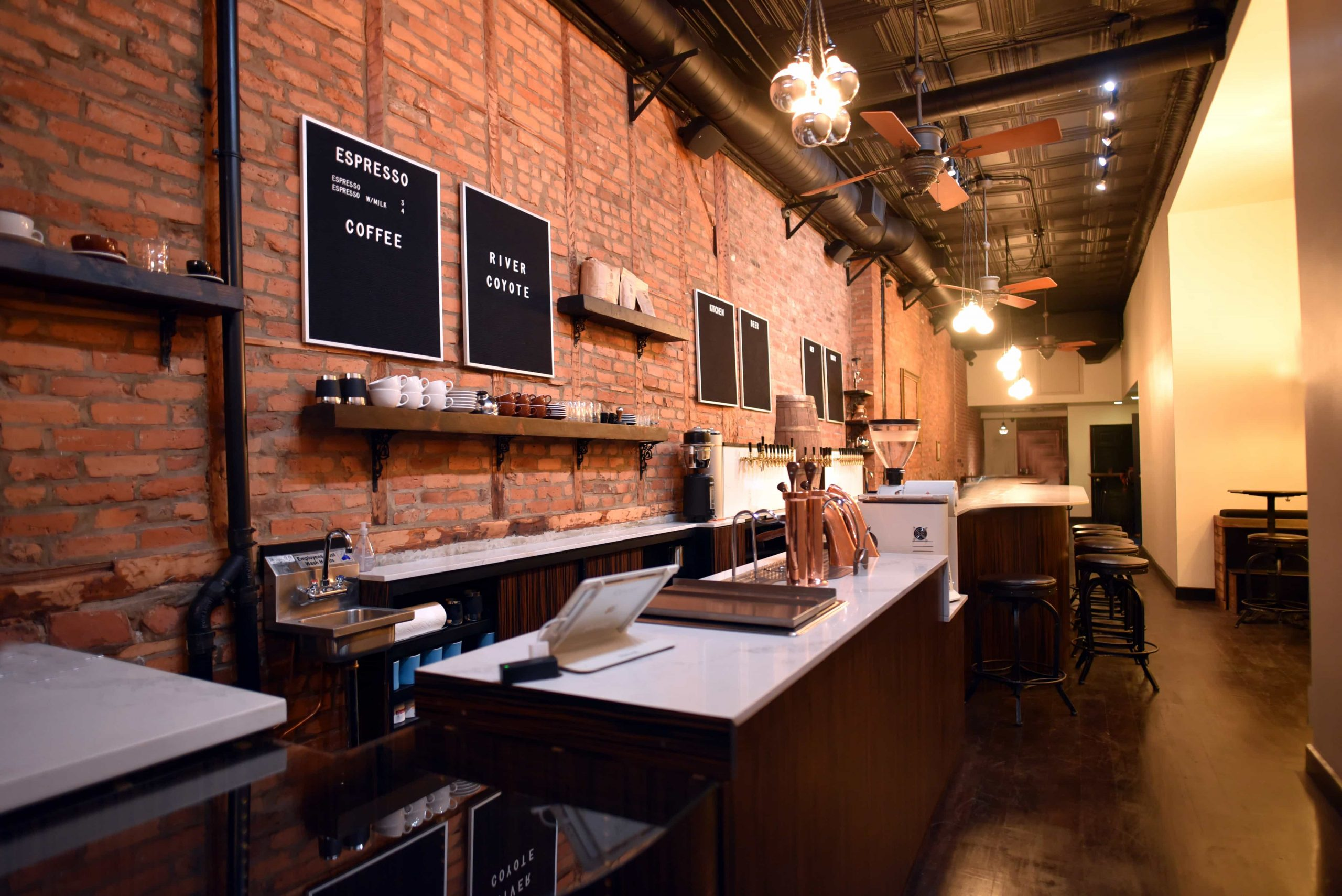 Coffee and Wine Bar River Coyote Opens in NYC