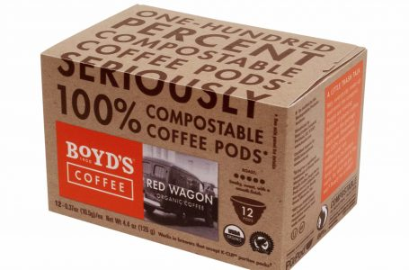 Boyd's Coffee Launches 100 Percent Compostable Pods