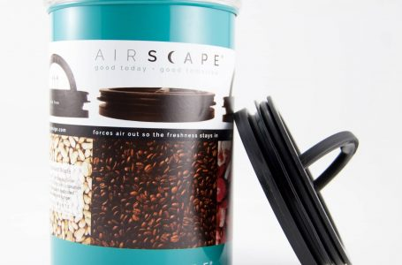 Best Coffee Bean Storage Container Gets Facelift With New Color, Retail Label & Brand Logo