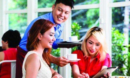 coffee customer 450x270 - Connecting to Customers
