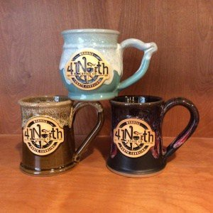 1 300x300 - Grey Fox Pottery recently partnered with 41 North Coffee