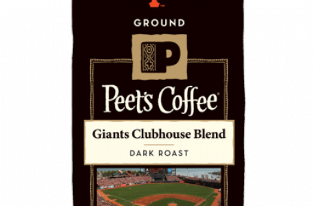 GIANTS PLAYERS HUNTER PENCE AND DENARD SPAN TAKE A SWING AT BEING PEET'S COFFEE BARISTAS