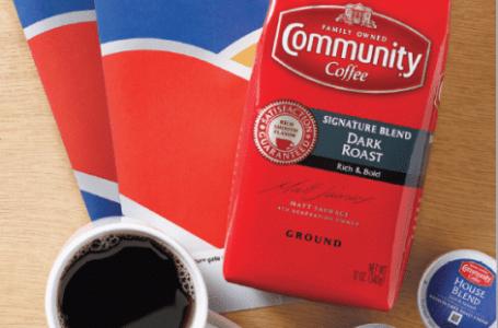 Community Coffee Fuels Southwest Rewards Program