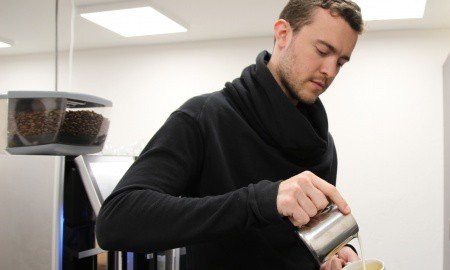 Chelsey Osborne Matt Perger Eversys 450x270 - Coffee innovator Matt Perger joins forces with Eversys