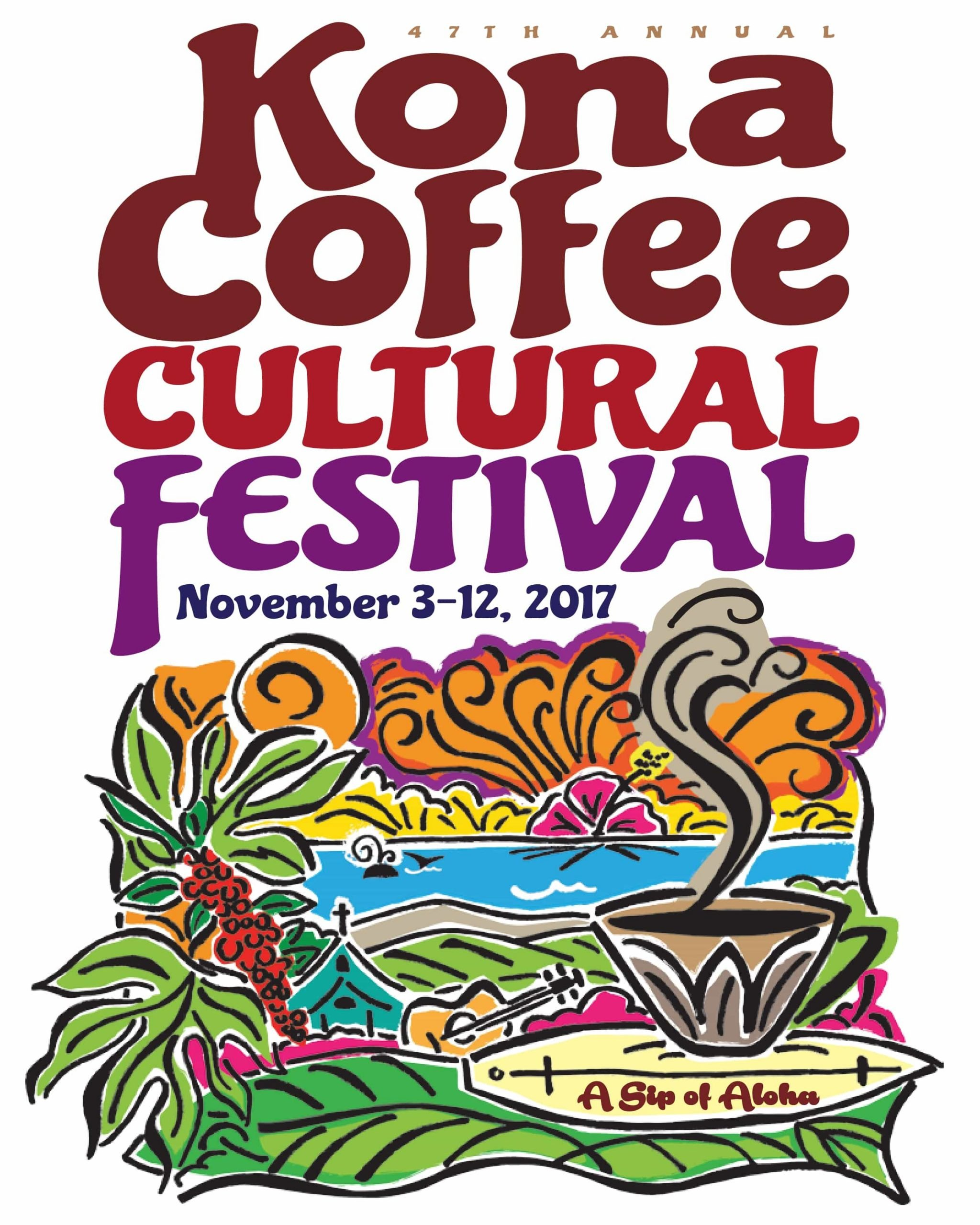 LINDA HUFF NAMED OFFICIAL ARTIST OF THE 47TH ANNUAL KONA COFFEE CULTURAL FESTIVAL