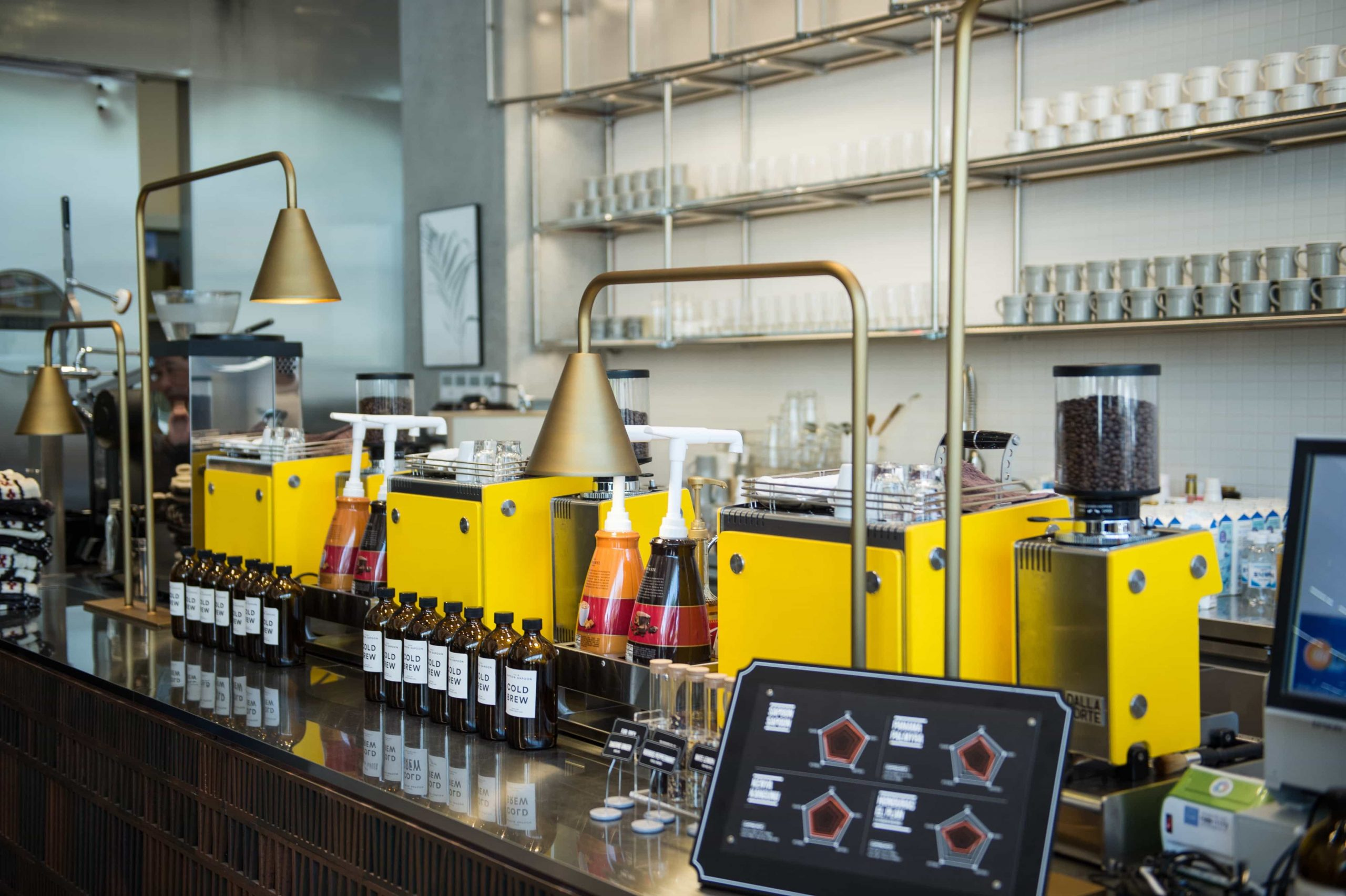 MinaSmartBar: much better than a multi-group espresso machine
