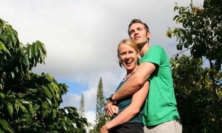 Denise Laitinen Kelleigh Stewart and Brandon von Damitz  450x270 - Hawaii Island Coffee Farmer Earns Prestigious Accolades