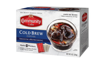 """Nicole Lavella CCC Cold Brew Coffee 450x270 - Community Coffee Company Introduces First """"Make At Home"""" Cold Brew Coffee"""