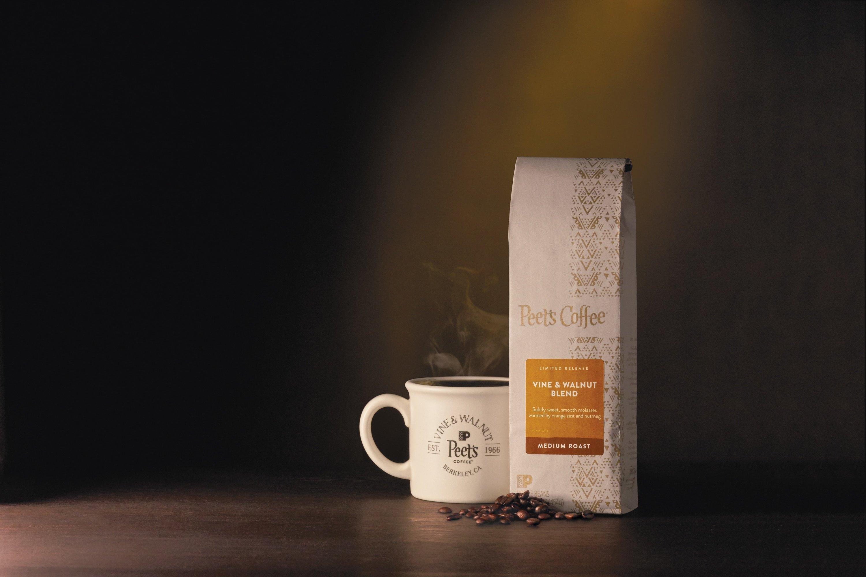 Meghan ODonnell 17FAL 52 CoffeeVineWalnut 0640r3 - Peet's Coffee Welcomes Back Fall Favorites and Unveils Vine & Walnut Blend