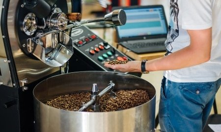 coffee roaster 2 450x270 - Roasters Rock: Should I Add Roasting to My Own Store?