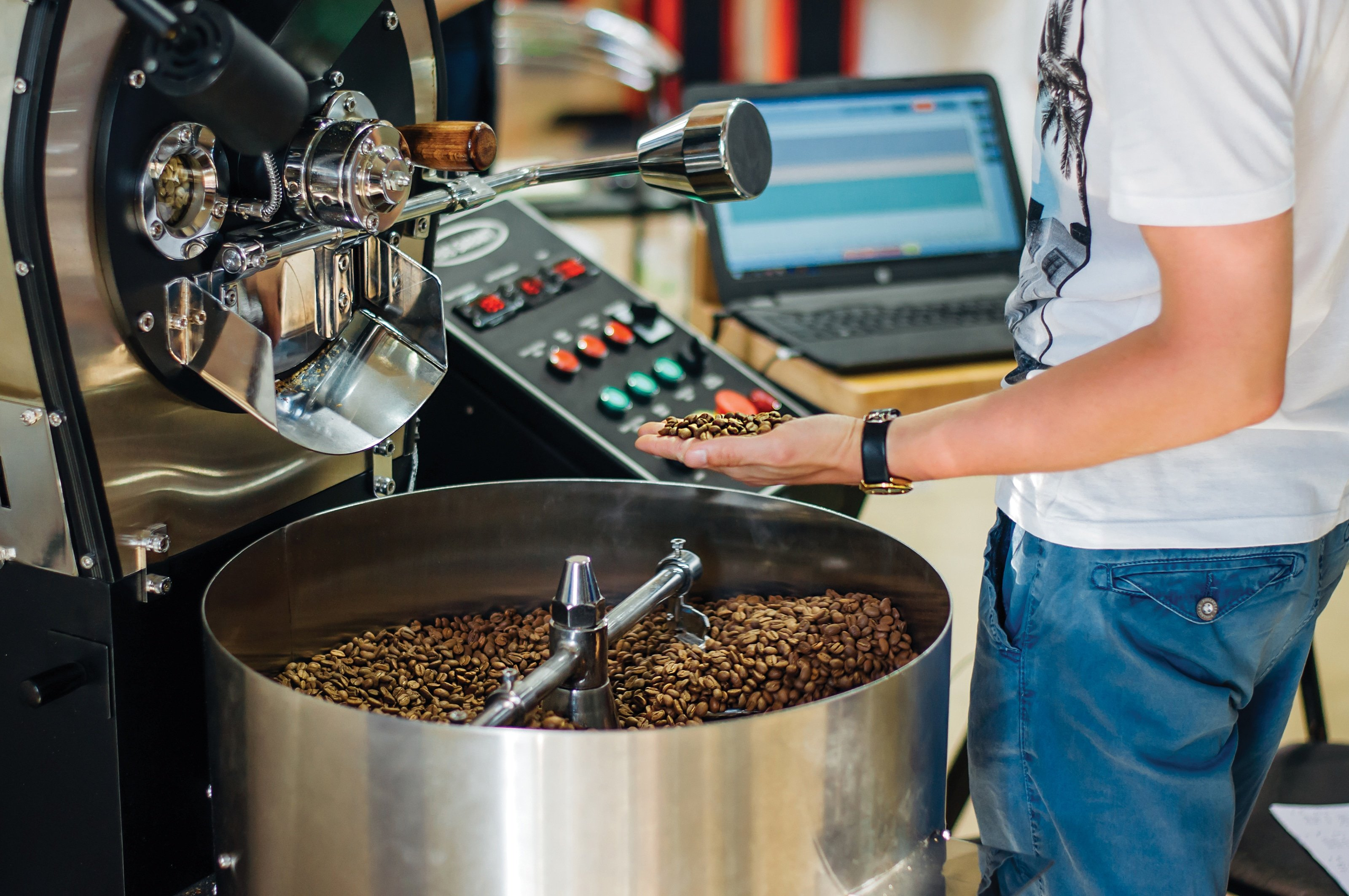 coffee roaster 2 - Roasters Rock: Should I Add Roasting to My Own Store?