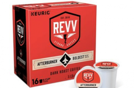 REVV® K-Cup® Pods Kick Strong Coffee into High Gear with New Varieties and Look