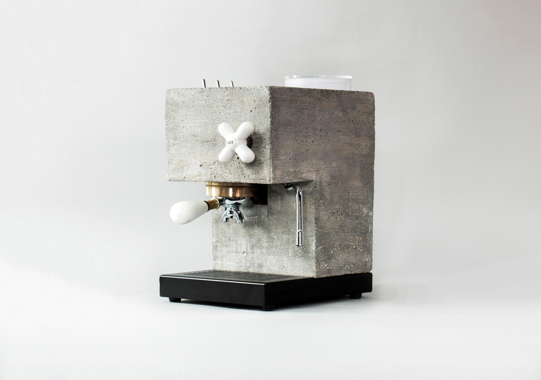 Julie Richter Anza Concrete ThreeQuarterView1 5200x3650 1 - Concrete AnZa Espresso Machine Campaign Offers Connectivity and Remote Access