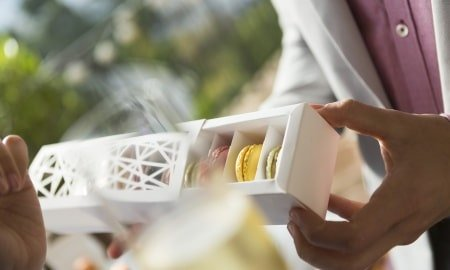 Paul Hendley CB 03 White Box Macarons ST 03 1 450x270 - BillerudKorsnäs Drives Packaging Innovation for Sustainability at PACK EXPO Las Vegas