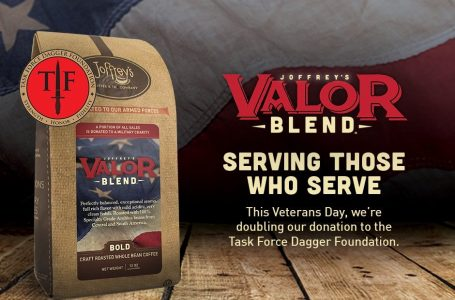 Joffrey's Valor Blend supports service men and women through Task Force Dagger Foundation