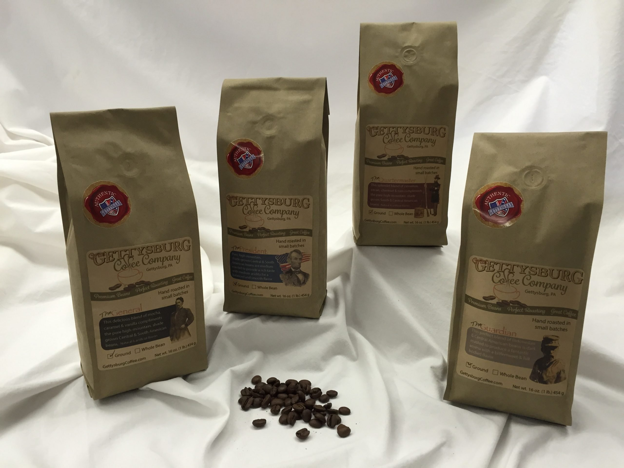 Salute America This Holiday Season with Gourmet Coffee Blends Roasted in Historic Gettysburg