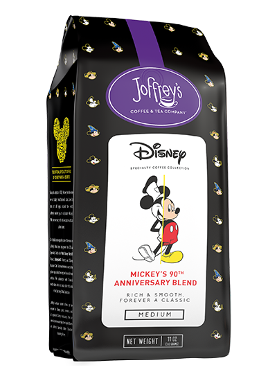 Giovanni Gutierrez SocialDisney - JOFFREY'S COFFEE & TEA CO. LAUNCHES NEW DISNEY MICKEY'S 90TH ANNIVERSARY BLEND