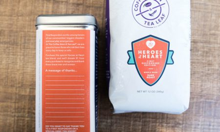 HEROSatHEART 450x270 - The Coffee Bean & Tea Leaf® Launches Heroes At Heart Program To Benefit First Responders