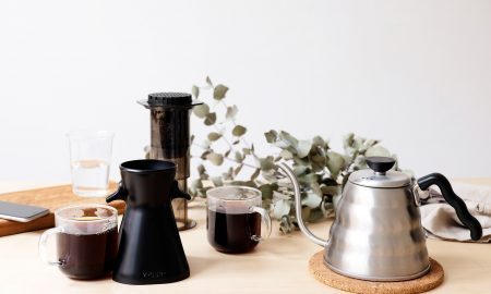 Andrew Eaves 2POUR 450x270 - 2POUR® The Dual Brew Coffee Accessory for the Aeropress - Making 2 Cups, From 1 Plunge
