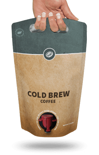 Dave Moynihan astropaq15l cold brew front - Astrapouch® Introduces New Cold Brew Coffee Packaging