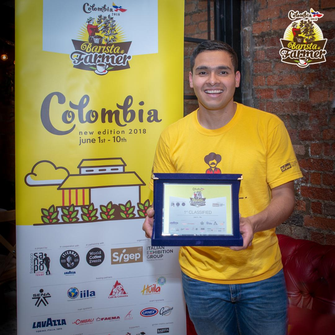 Screen Shot 2018 06 15 at 8.52.12 AM - Colombian Diego Campos Is The Winner  Of The Fourth Edition Of Barista & Farmer